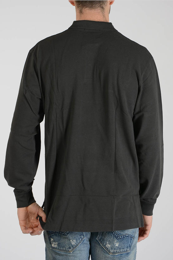 Cotton Polo Long sleeves