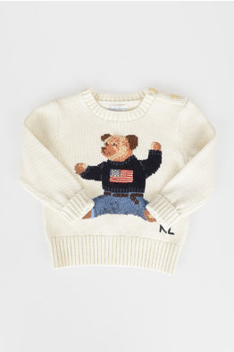 4996adbc9ed8a -55% EXTRA 20% OFF. Polo Ralph Lauren Kids Cotton Pullover. € 139.00 € 62.55