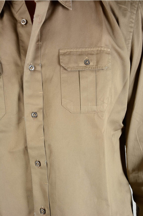 Cotton shirt with Pockets