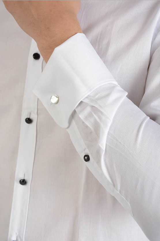 Cotton Small collar Shirt