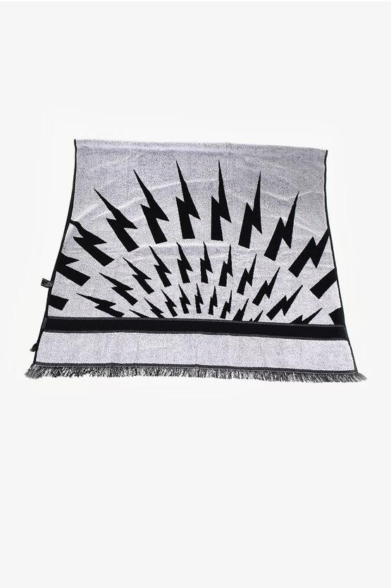 Cotton THUNDERBOLT FAIRISLE Beach Towel