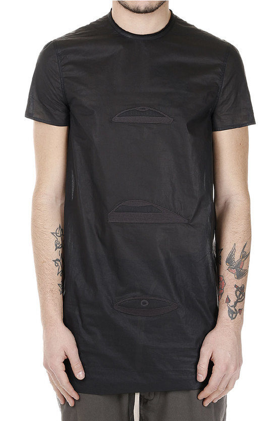 Cotton TRIPLE STARE T-shirt embroidery