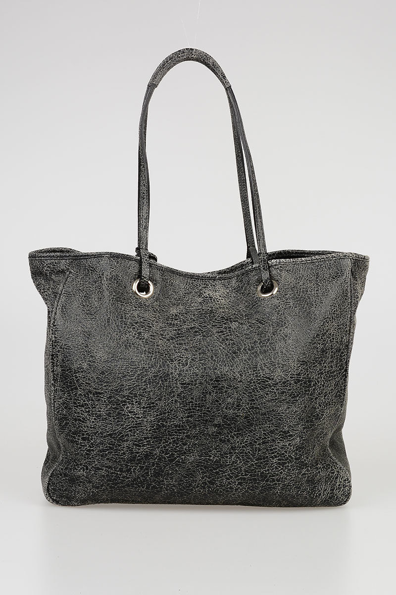 d72b1ceb5a482 Pinko Cracked Leather MULTIPLO Shopping Bag women - Glamood Outlet