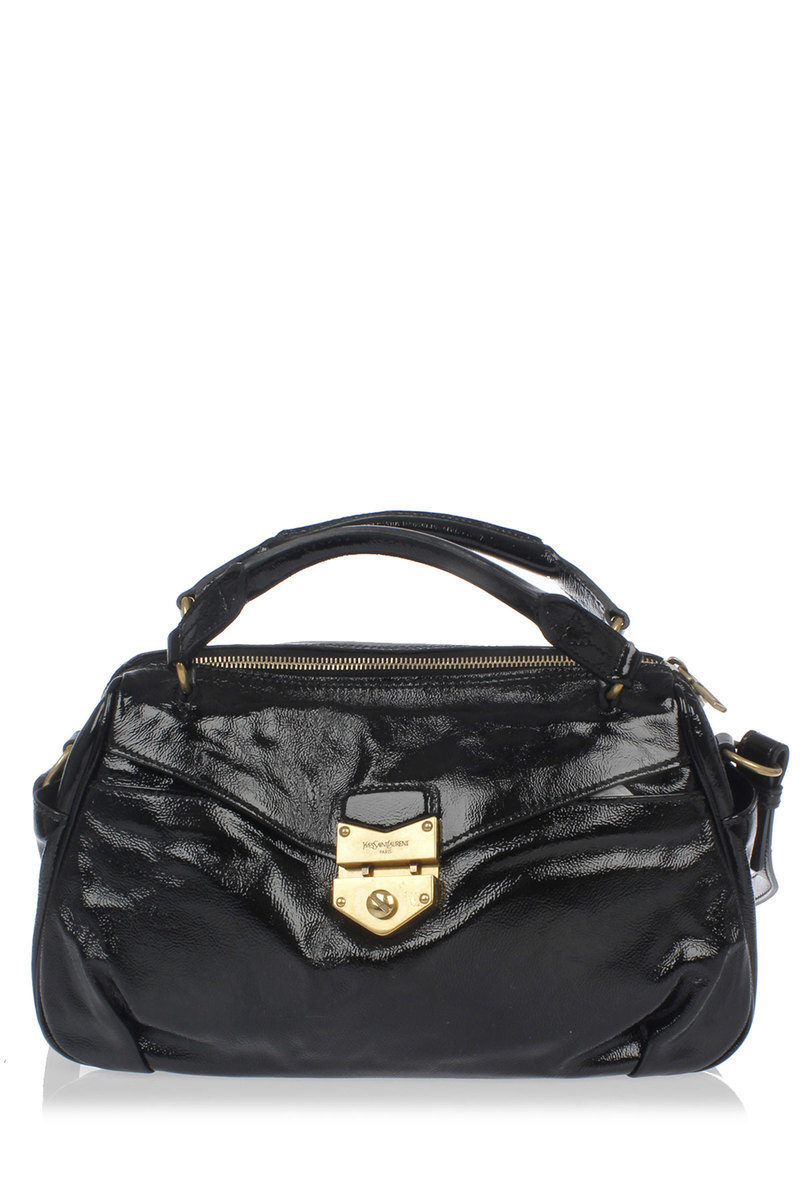 Dandy Patent Leather Trunk Bag
