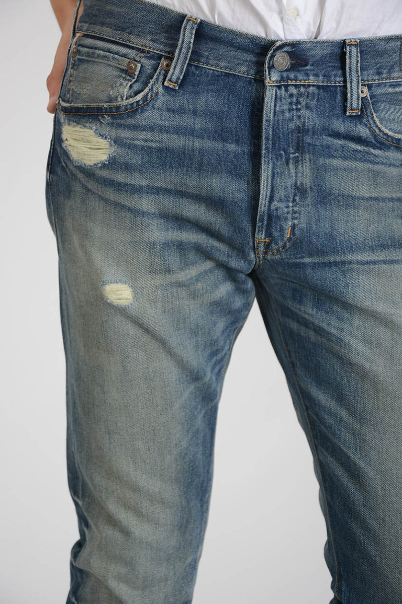 DENIM & SUPPLY 18cm Mixed Denim Slim Jeans Spring/summer Ralph Lauren