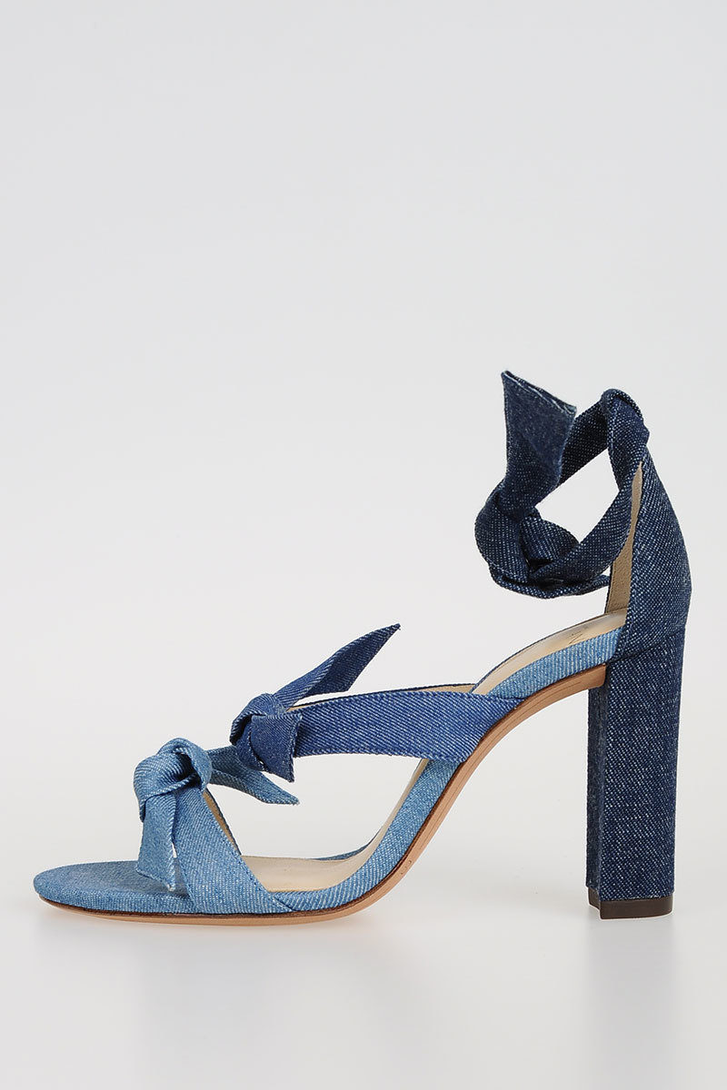 Cool Denim CRISTINA Pumps Spring/summer Alexandre Birman Sale Limited Edition Cheap Official Sale Clearance Buy For Sale Wb4rE