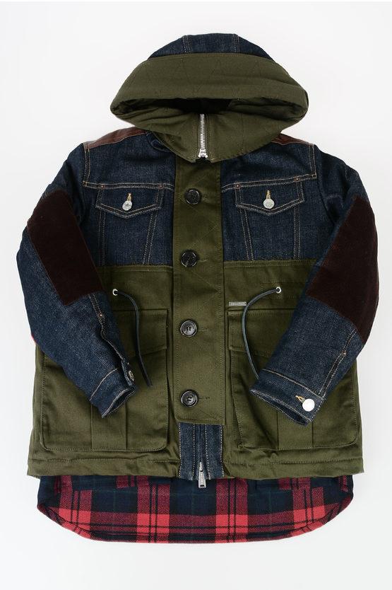 Denim Padded Jacket