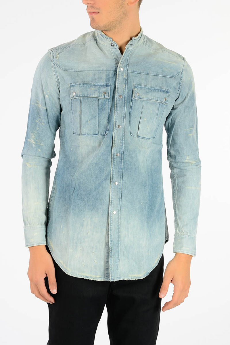 0dd67369 Balmain Denim Shirt men - Glamood Outlet
