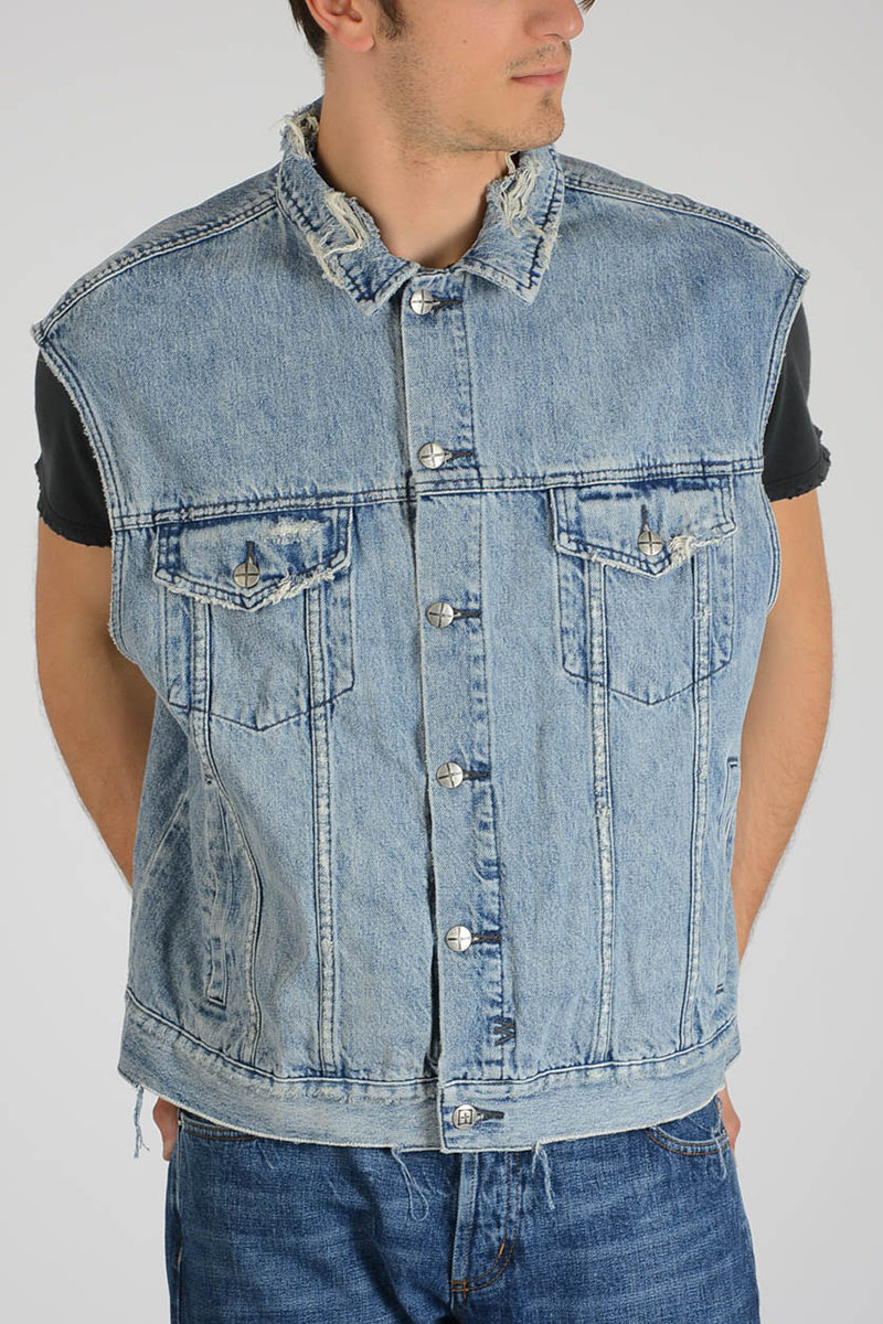 Denim Glamood Ksubi Jacket men Outlet Sleeveless UFqRqB