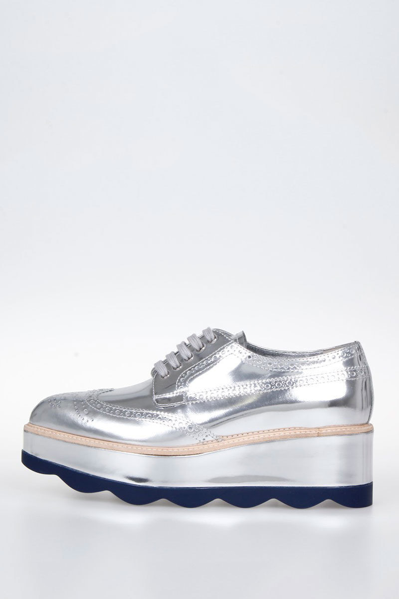 2205e596f4d Prada Derby Shoes with Platform women - Glamood Outlet