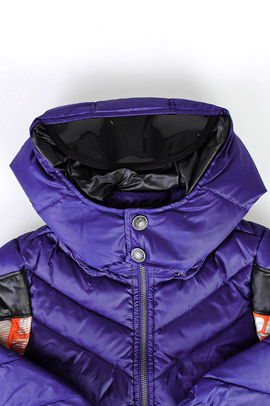down Padded Jacket With sun visor