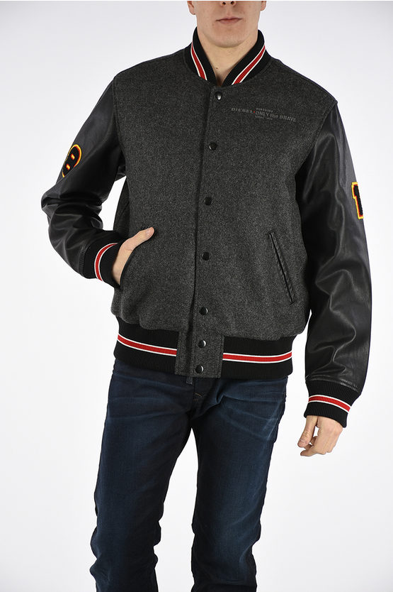 Embroidered L-HARRYS Bomber