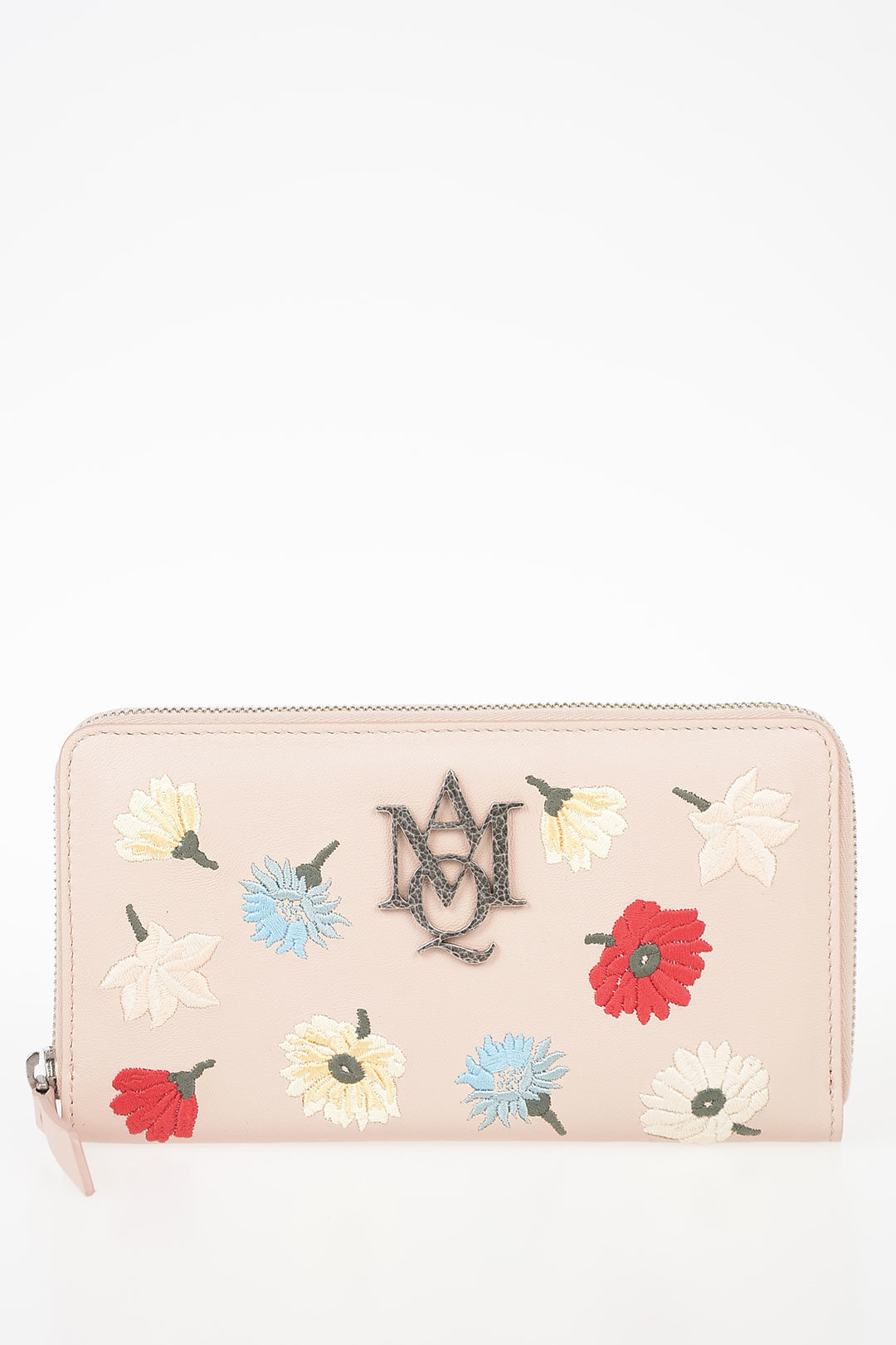 c6451165be Embroidered Leather Wallet