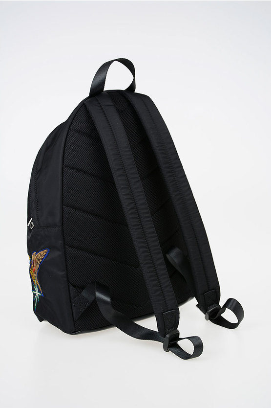 "Embroidered ""SUPERIIORR"" Backpack"