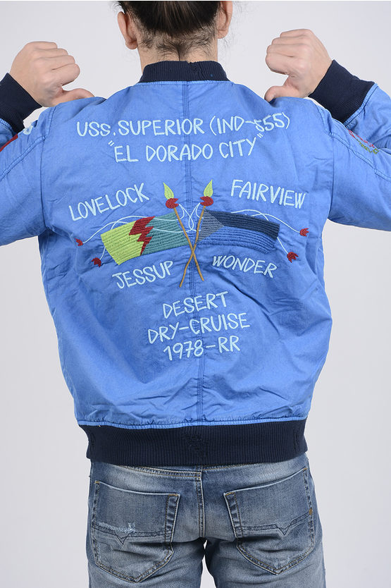 Embroidered W-QUESTRY Bomber