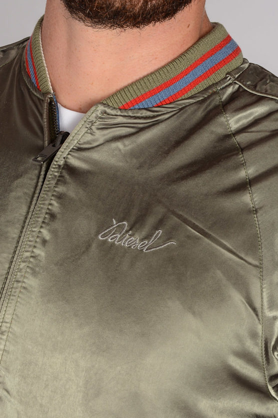 Embroidery and Reversible OITO Jacket
