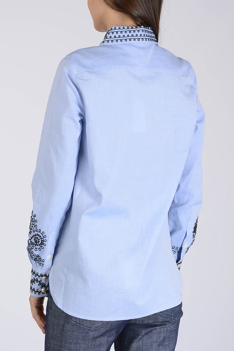 76ae1c0044e Tory Burch Embroidery Blouse women - Glamood Outlet
