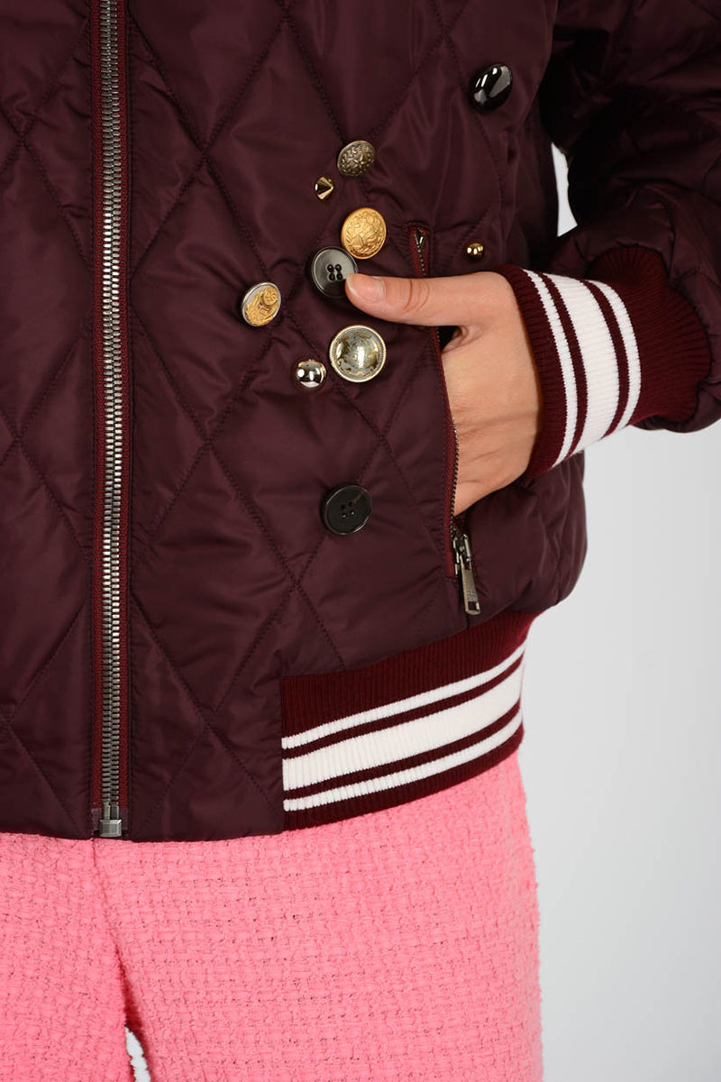 Outlet Dolce Embroidery amp; Glamood Bomber women Gabbana w7R8afx7