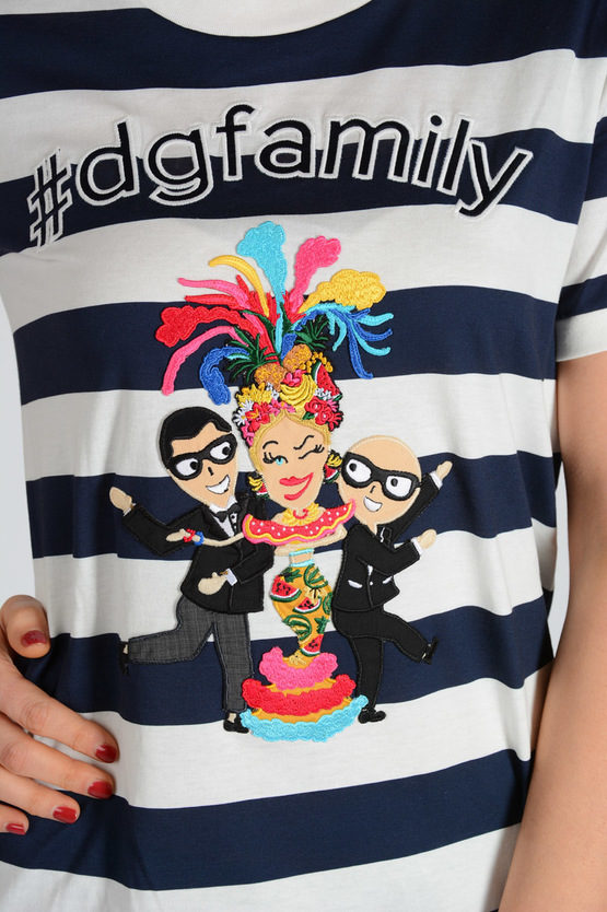 Embroidery #dgfamily T-shirt