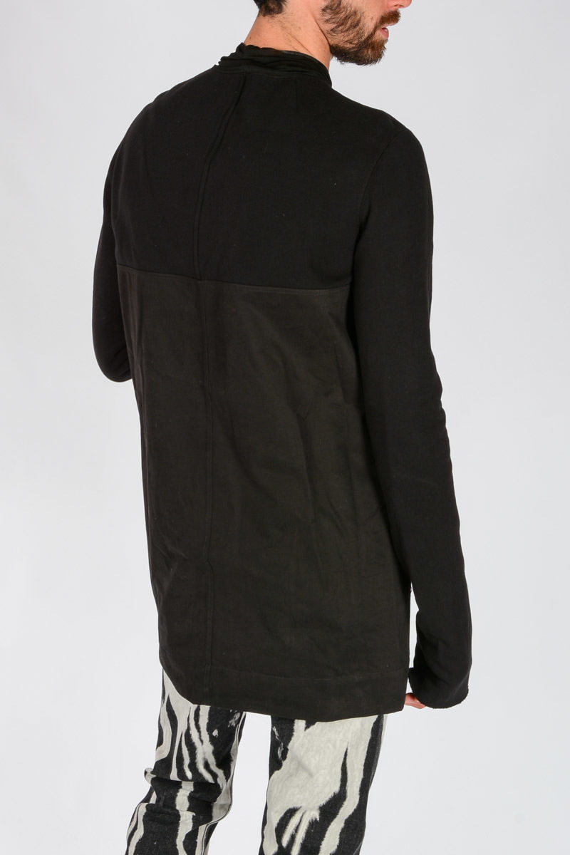 ab814099a87a Rick Owens EMOTIONLESS Sweatshirt with Patches men - Glamood Outlet