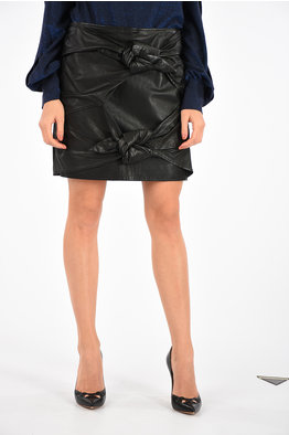 ae9f1aa5870e Outlet women Leather Skirts - Glamood Outlet