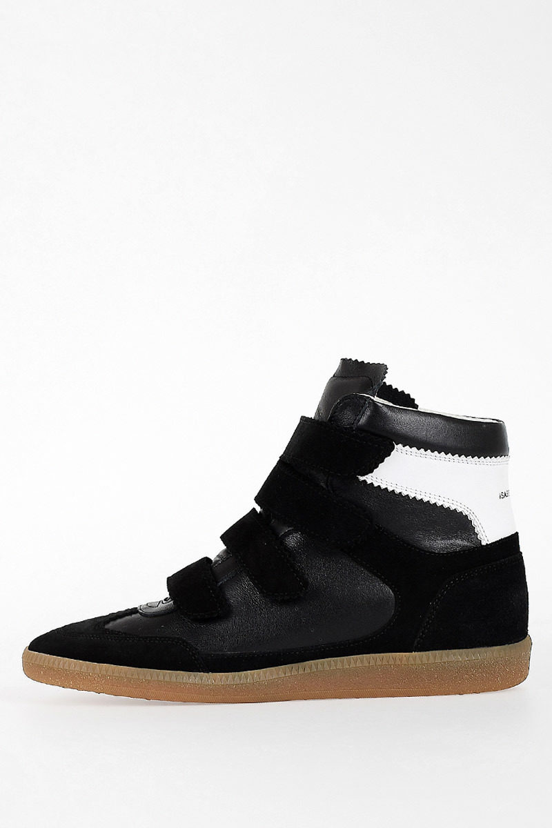 f8d557c9fd7 Isabel Marant ETOILE Leather NEW SNEAKERS BILSY Shoes women ...