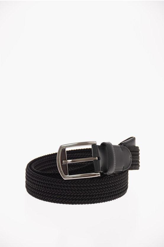 EZ LUXURY Braided Textile Belt 30mm