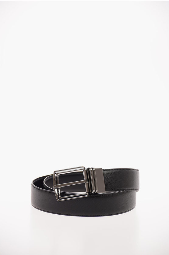 EZ LUXURY Reversible Leather Belt 30mm
