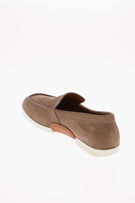 EZ LUXURY Suede Leather BELLAGIO Loafers