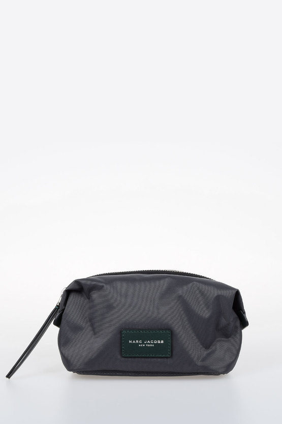 Fabric and Leather Beauty Case