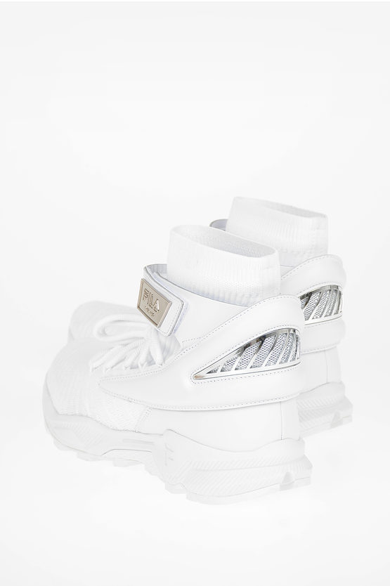 Fabric and Leather FRACHEY Sneakers