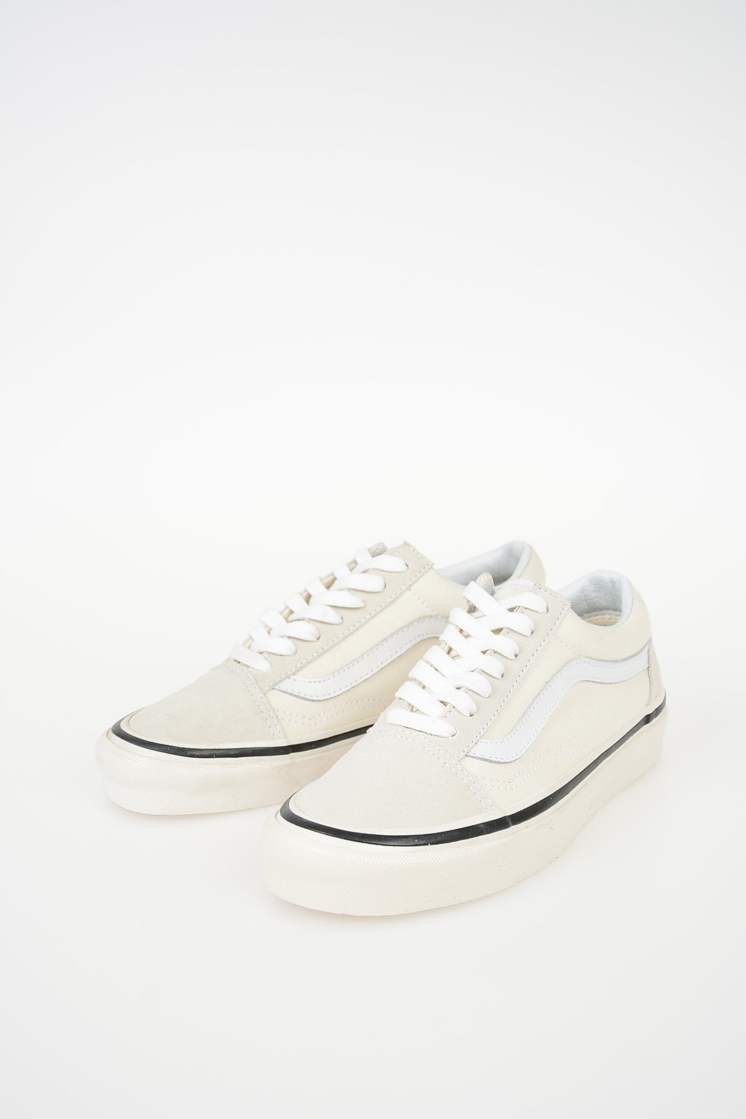 d22e288bf0 Vans Fabric and Leather OLD SKOOL Sneakers - Glamood Outlet