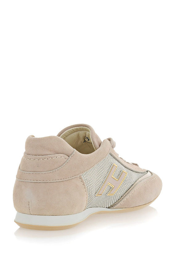 Fabric and Leather OLYMPIA Sneakers