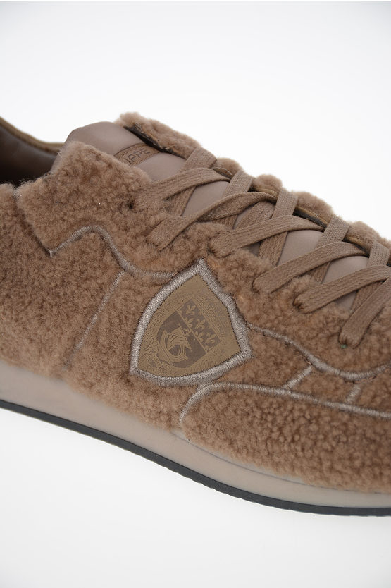 Fabric and Leather TROPEZ Sneakers