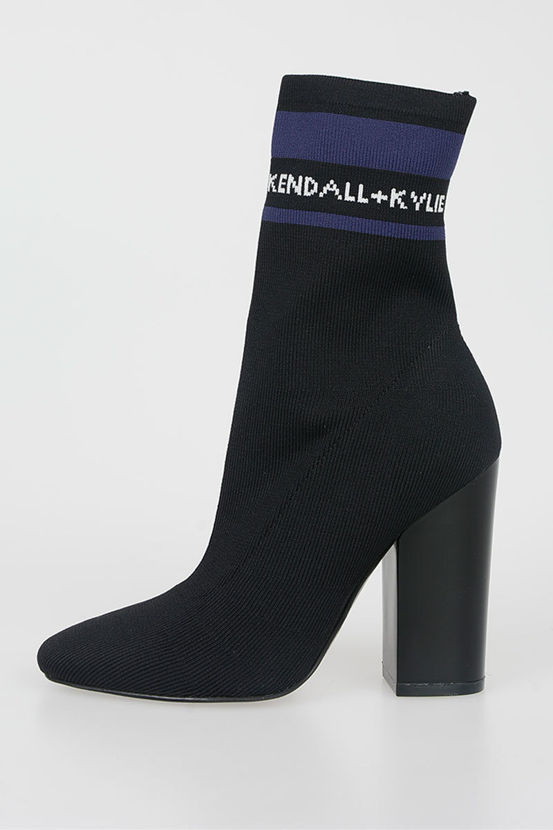 Boots Kendall Ankle Fabric Outlet women Kylie Glamood 10cm tUTUwq