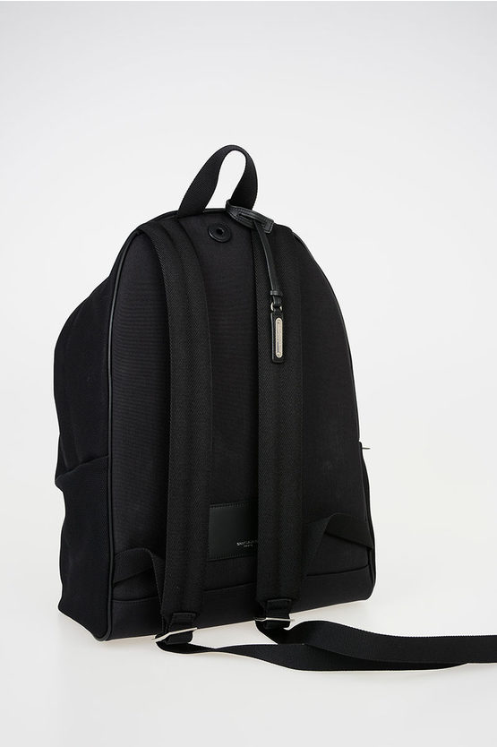 Fabric Backpack with Applications