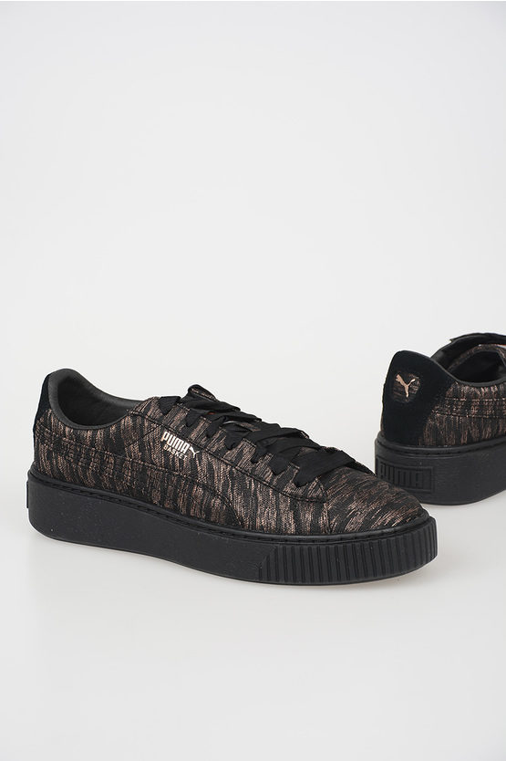 Fabric BASKET PLATFORM Sneakers
