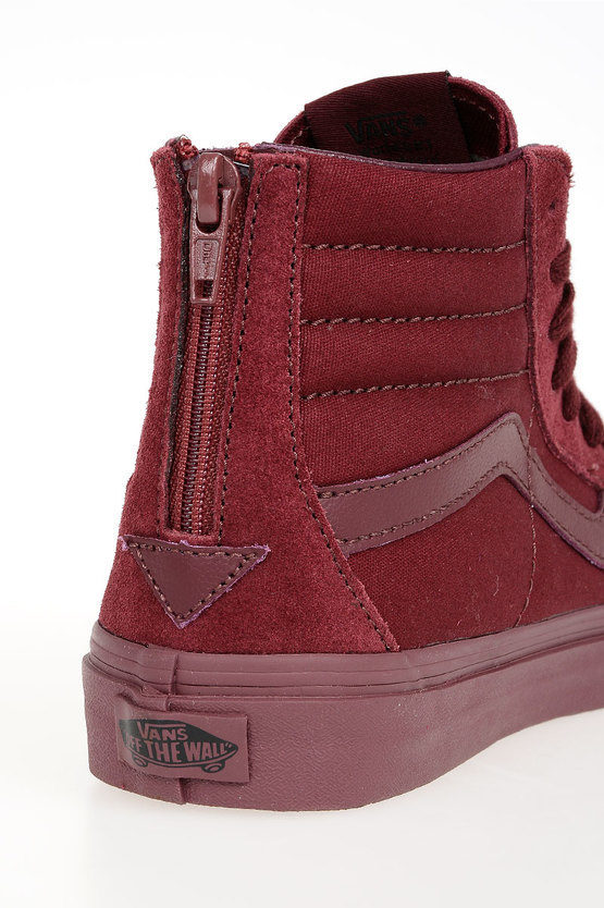 Fabric High Sneakers