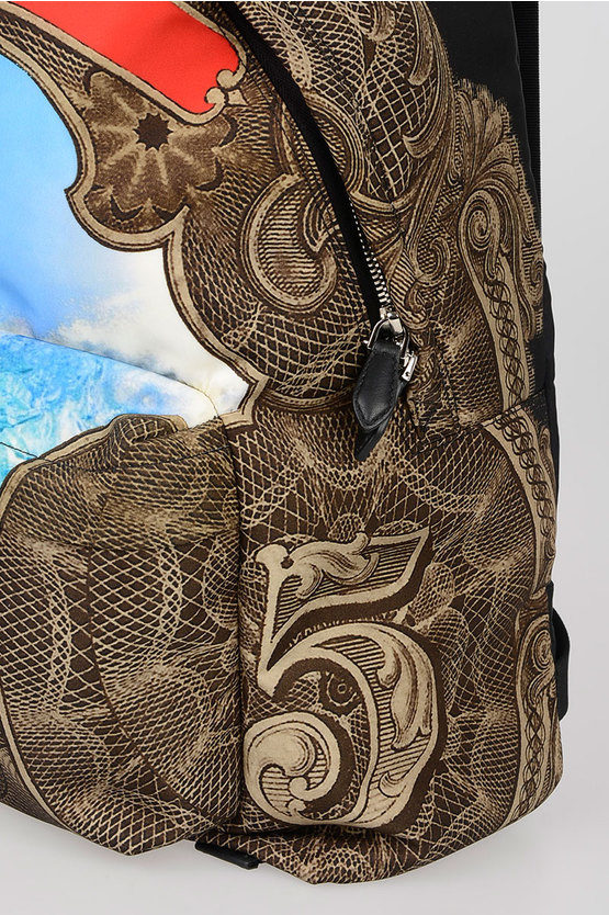 Fabric Printed Backpack