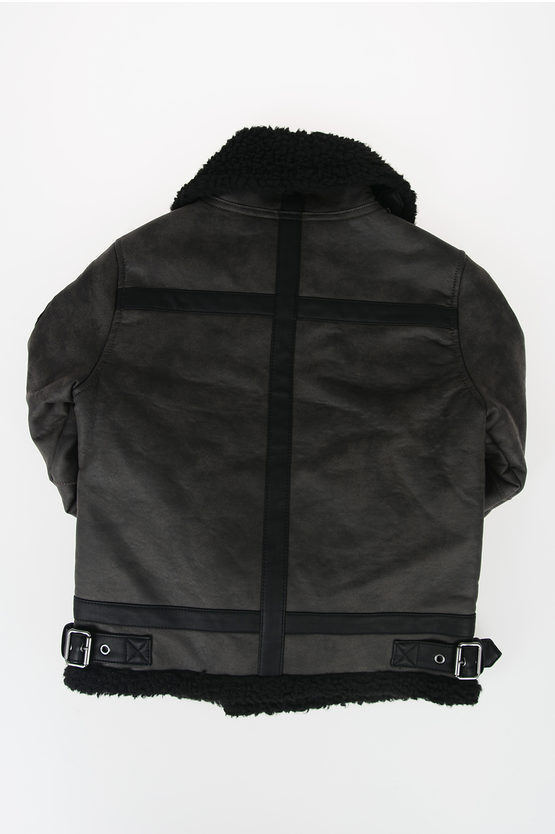 Faux Leather JELLO Jacket