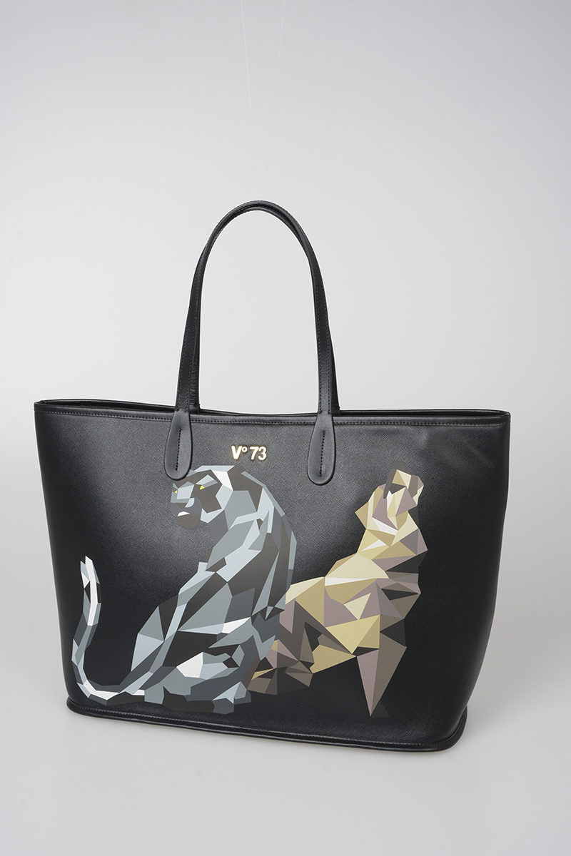 ace01a45529d V73 Faux Leather Puma Printed Bag women - Glamood Outlet