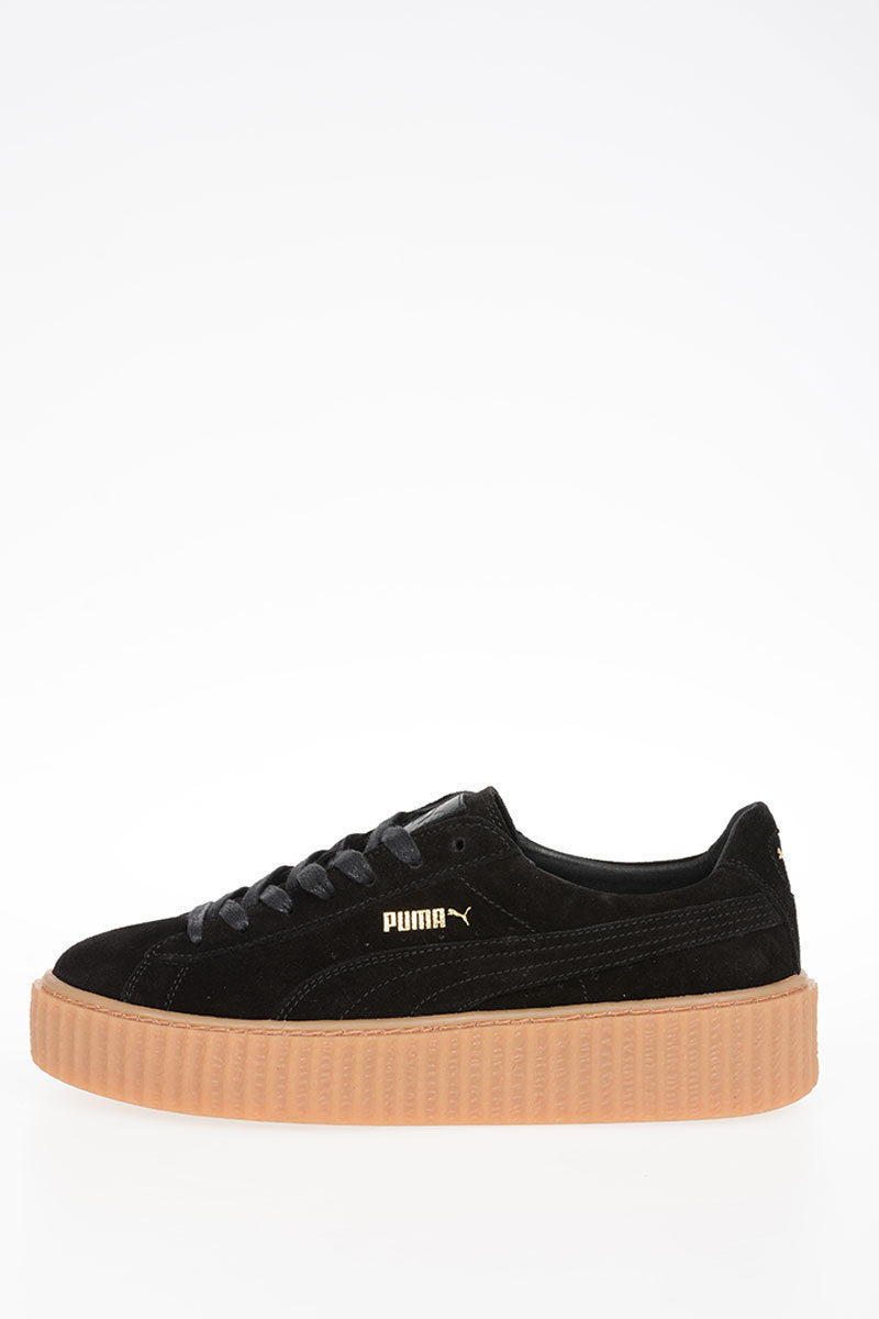 competitive price eef06 e2297 FENTY BY RIHANNA Leather SUEDE CREEPER Sneakers