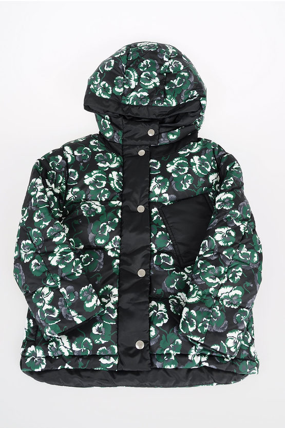 Floral Down Jacket