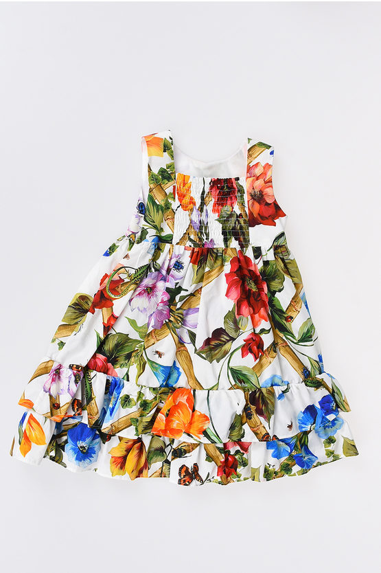 Flower Printed Dress