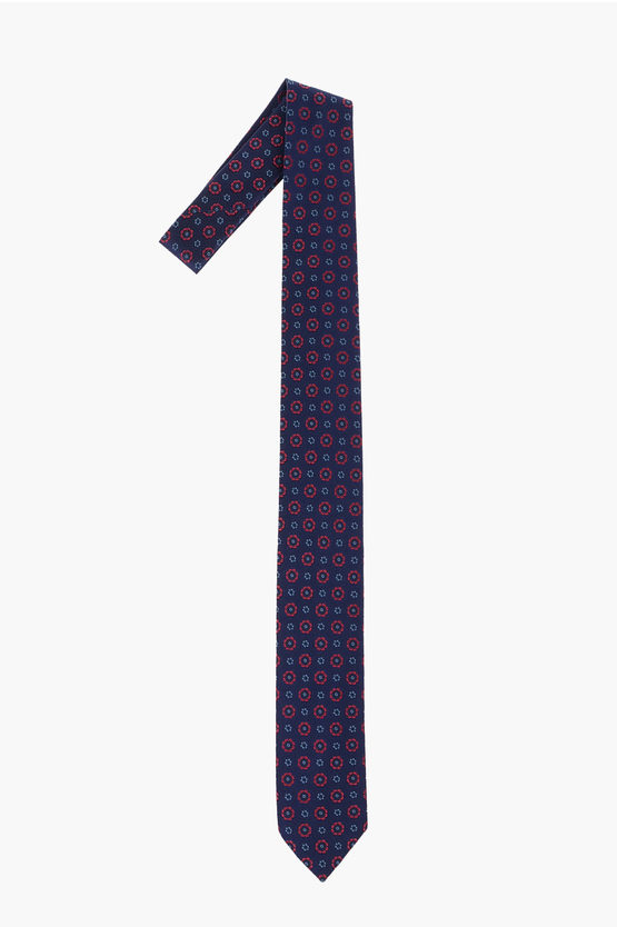Flowers-Embrodered Tie