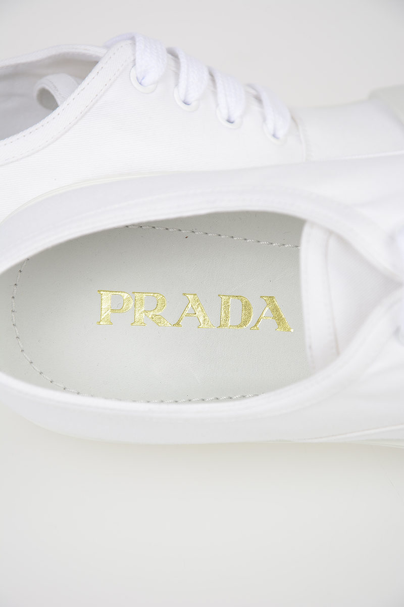 Gabardine Canvas Sneakers Shoes