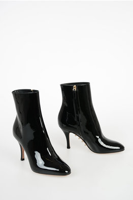 Calvin Klein 205W39NYC 8cm Leather Ankle Boots women