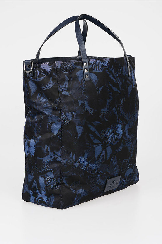 GARAVANI Fabric CAMUBUTTERFLY Shopping Bag