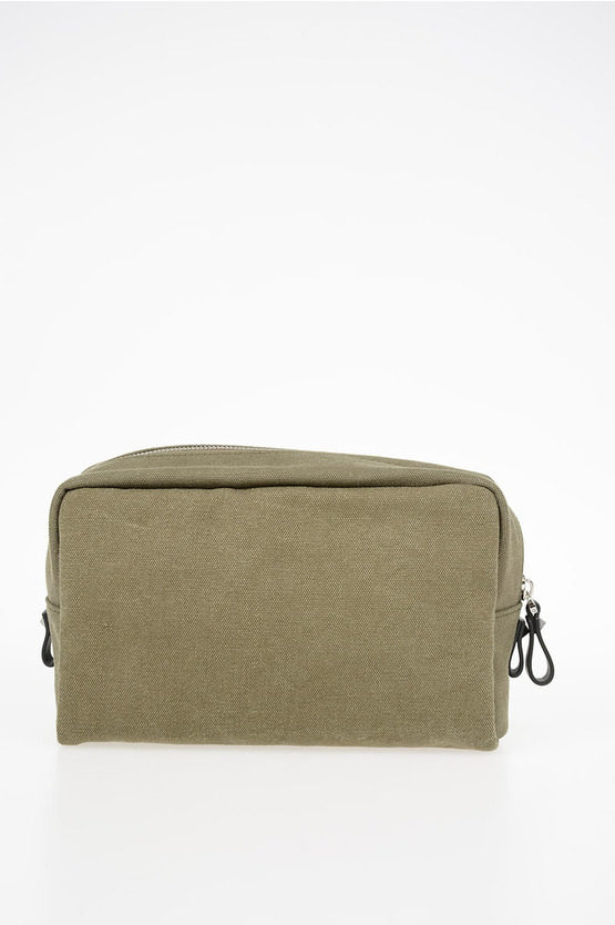 GARAVANI Printed Canvas Toiletry Bag
