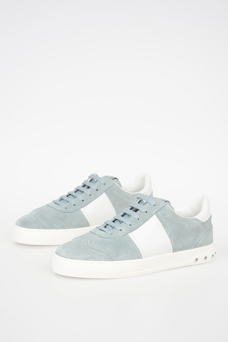 46ab3b1384 GARAVANI Studded Suede Leather Sneakers Shoes